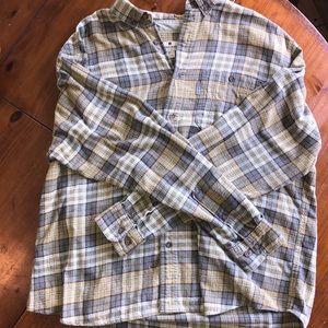 Men's XL Woolrich Flannel Button Up